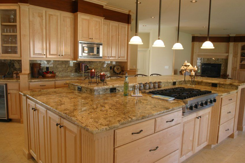 Granite Countertop Tan