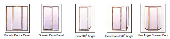 Styles of Framed Shower Door