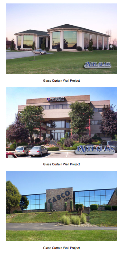 Glass Curtain Wall Projects  PA